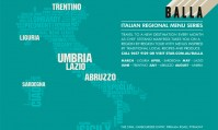 BALLA 'Italian Regional Menu Series'  Lazio May 14