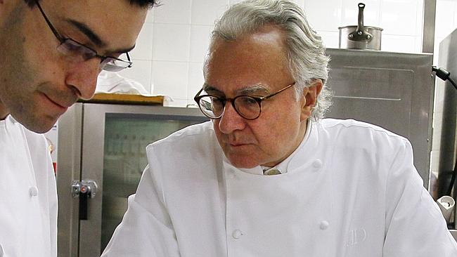 French Chef Alain Ducasse. Picture: AP