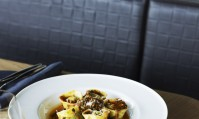 Balla's Agnolotti filled with wild greens